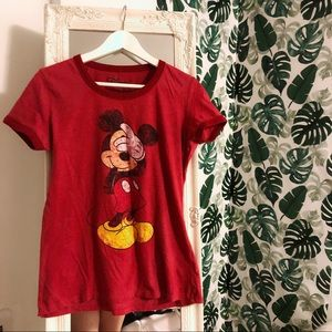 Authentic Disney Mickey Mouse t shirt